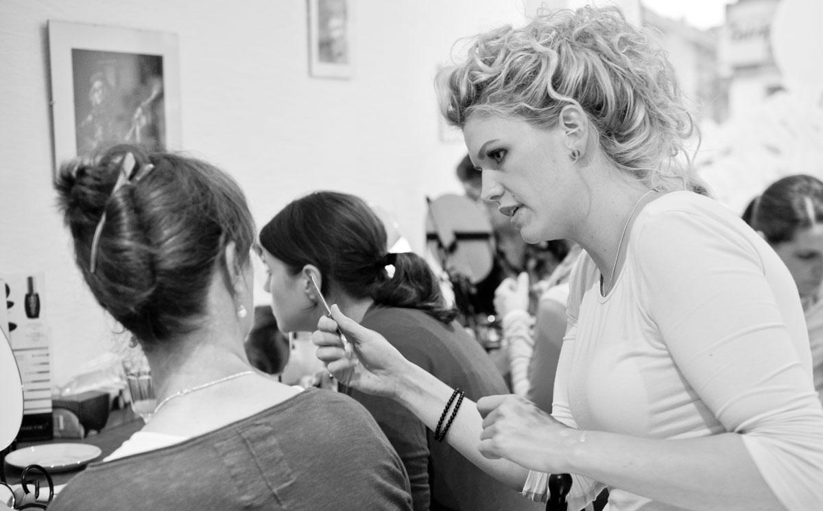 Make Up Workshop in Gelsenkirchen Schalke bei Spieglein Spieglein mit Kristina Taute ohne offene Fragen